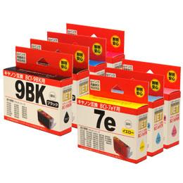 BCI-7e/6MP+9BK 互換 汎用インク