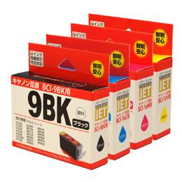 BCI-9BK/BCI-7eC/BCI-7eM/BCI-7eY 互換 汎用インク