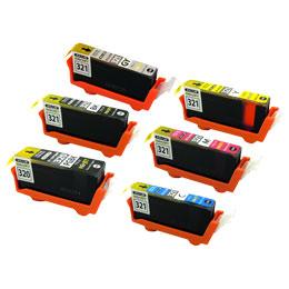 BCI-320PGBK/BCI-321BK/BCI-321C/BCI-321M/BCI-321Y/BCI-321GY リサイクルインク