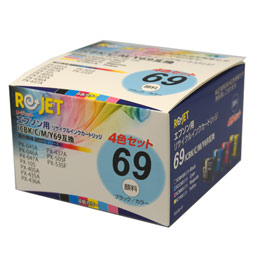 IC4CL69(ICBK69/ICC69/ICM69/ICY69) ICBK69L リサイクルインク
